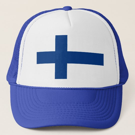 Flag of Finland (Suomen lippu, Finlands flagga) Cap