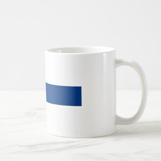 Flag of Finland (Suomen lippu, Finlands flagga) Coffee Mug