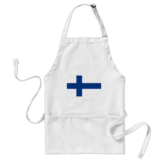 Flag of Finland (Suomen lippu, Finlands flagga) Standard Apron
