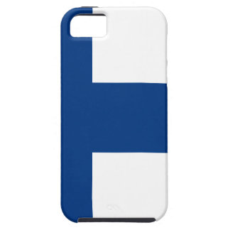 Flag of Finland - Suomen lippu - Finnish Flag Case For The iPhone 5