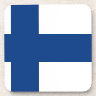 Flag of Finland - Suomen lippu - Finnish Flag Coaster