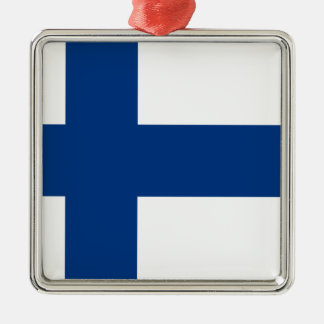 Flag of Finland - Suomen lippu - Finnish Flag Metal Ornament