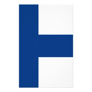 Flag of Finland - Suomen lippu - Finnish Flag Stationery