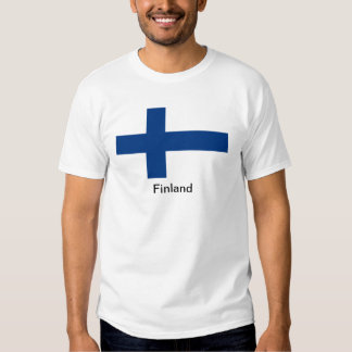 Flag of Finland T Shirt