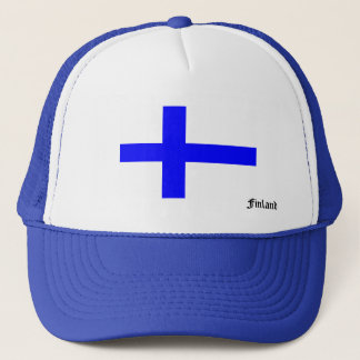 Flag of Finland Trucker Trucker Hat