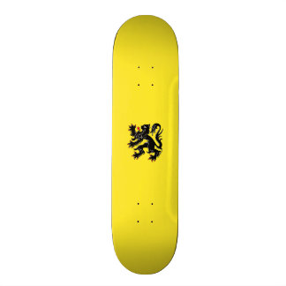 Flag of Flanders Skateboard Deck