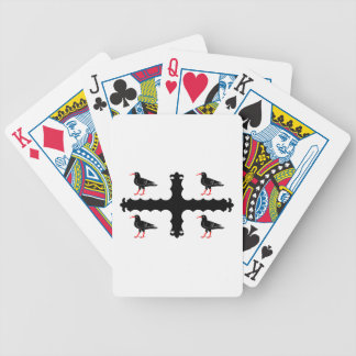 Flag of Flintshire Bicycle Playing Cards