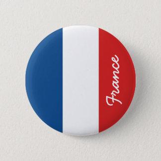 Flag of France 6 Cm Round Badge