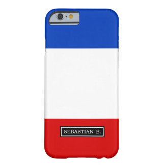 Flag of France Barely There iPhone 6 Case