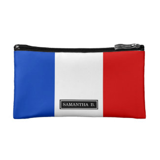 Flag of France Cosmetics Bags