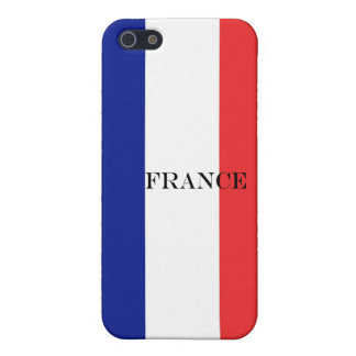 Flag of France French Tricolore Case For iPhone 5/5S