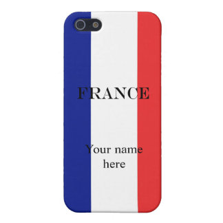 Flag of France French Tricolore iPhone 5/5S Cover