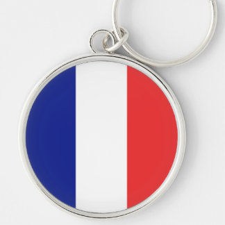 Flag of France French Tricolore Key Ring