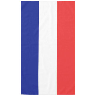 Flag of France French Tricolore Tablecloth