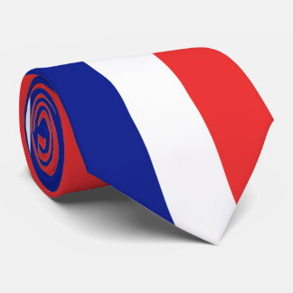 Flag of France French Tricolore Tie