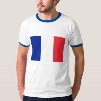 Flag of France French Tricolour Drapeau Français T-Shirt