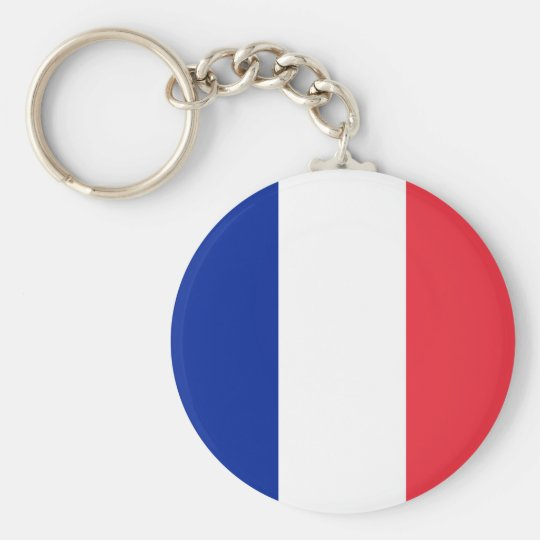 Flag of France Keychain