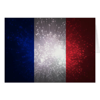 Flag of France Note Card