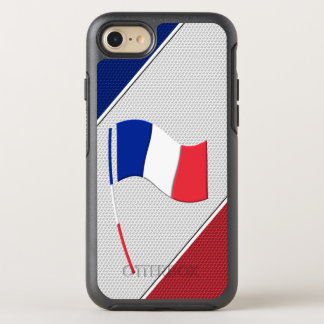 Flag of France OtterBox Symmetry iPhone 8/7 Case