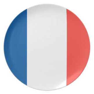 Flag of France Party Plates