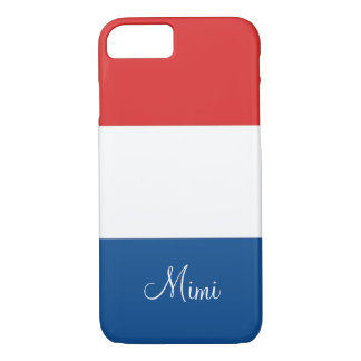 Flag of France Personalized iPhone 7 Case