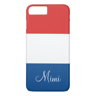Flag of France Personalized iPhone 7 Plus Case