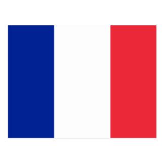 Flag of France Postcard