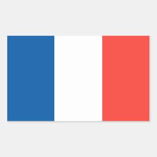 Flag of France Rectangular Sticker