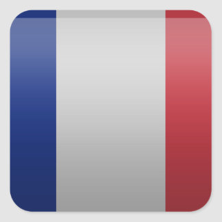 Flag of France Square Sticker