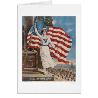 Flag of Freedom Card