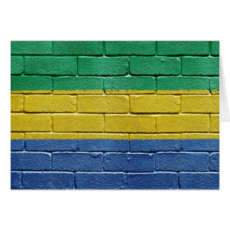 Flag of Gabon Card