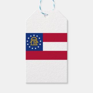 Flag Of Georgia Gift Tags