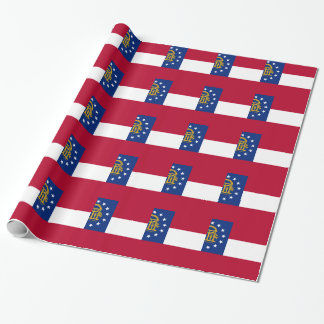Flag Of Georgia Wrapping Paper