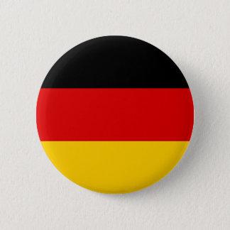 Flag of Germany 6 Cm Round Badge