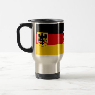 Flag of Germany - Bundesdienstflagge Travel Mug