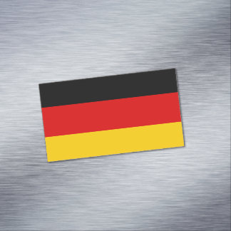 Flag of Germany Magnetic Business Cards