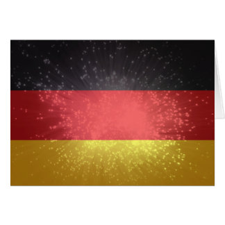 Flag of Germany Note Card