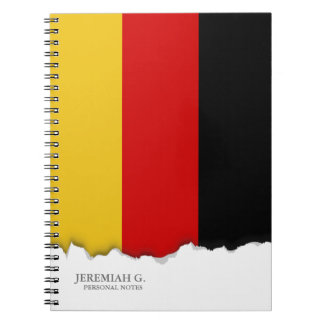 Flag of Germany Notebooks