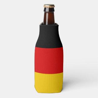 Flag of Germany or Deutschland Bottle Cooler