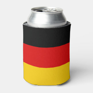 Flag of Germany or Deutschland Can Cooler