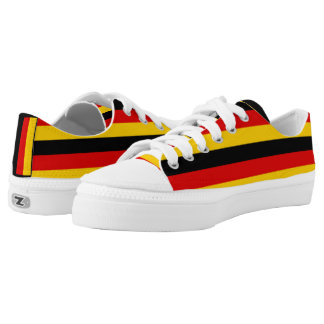 Flag of Germany or Deutschland Low Tops