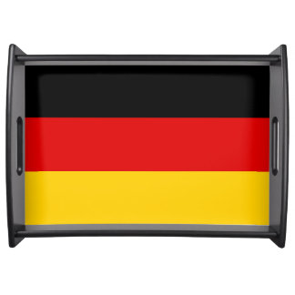 Flag of Germany or Deutschland Serving Tray