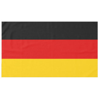 Flag of Germany or Deutschland Tablecloth