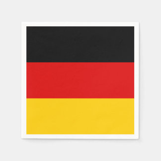 Flag of Germany Paper Napkins Disposable Napkin