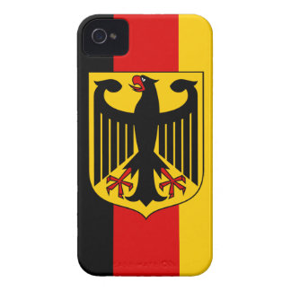 Flag of Germany with Crest - BlackBerry Bold Case