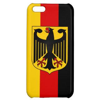 Flag of Germany With Crest Savvy iPhone 5 Glossy iPhone 5C Cover