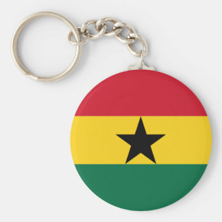 Flag of Ghana Key Ring