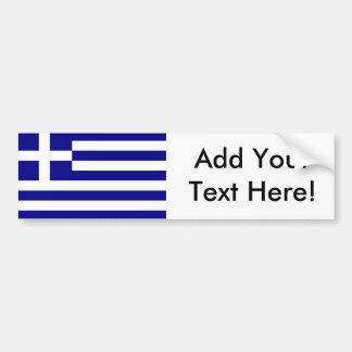 Flag of Greece Bumper Stickers