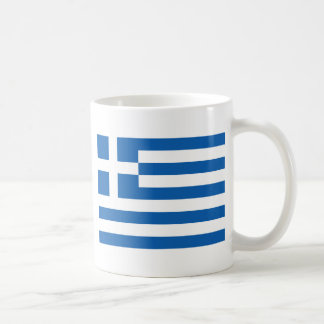 Flag of Greece Coffee Mug