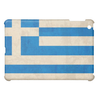 Flag of Greece Distressed iPad Case